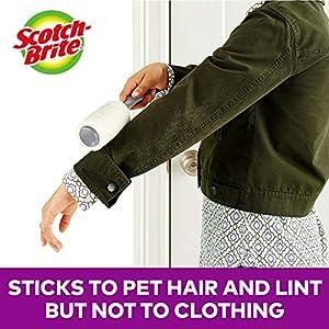 Scotch-Brite Pet Extra Sticky Hair Lint Roller, 95 Sheets (Tamaño: 95 Sheets)