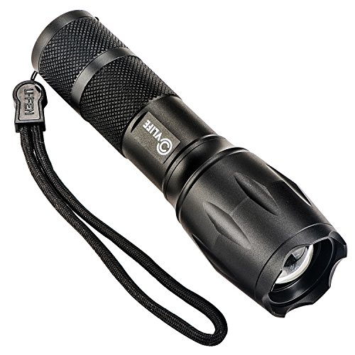 CVLIFE 800LM Tactical Flashlight T6 LED Rechargeable Zoom ...