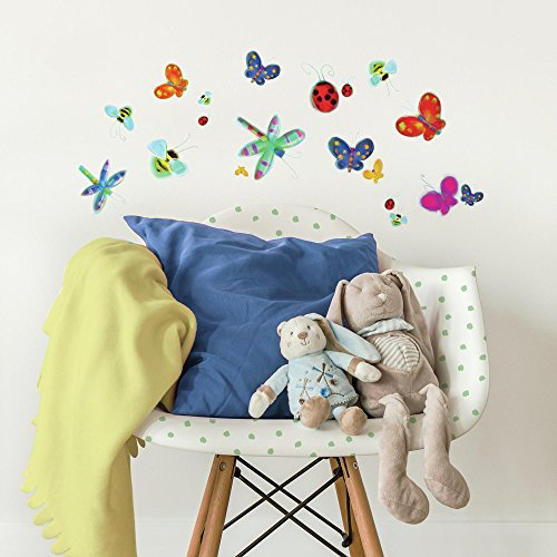- RoomMates Jelly Bugs Peel and Stick Wall Decals