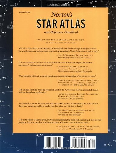 Norton's Star Atlas and Reference Handbook: And Reference Handbook, 20th Edition by Dutton