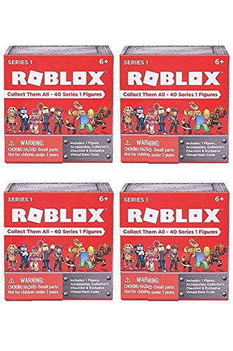 ROBLOX Series 1 action Figure mystery box (SET OF 4 (Series Action Figure Set)