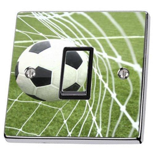 Balón De Fútbol Net Campo De Fútbol Interruptor Pegatina piel ...