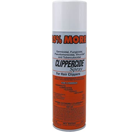 Clippercide Atomizador para Máquinas de Afeitar, 425 ml: Amazon.es ...