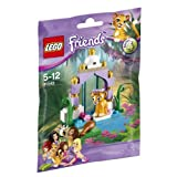 Beauty Temple 41042 and Lego Friends tiger (japan import)