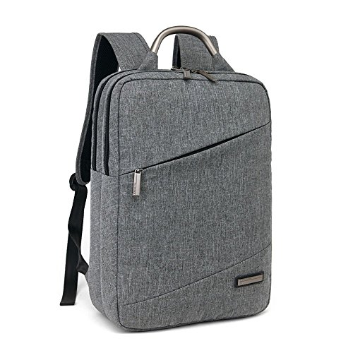 Acxeon Laptop Backpack, Acxeon Lightweight Nylon Water Resistant Multipurpose Shoulder Notebook Bag for up to 15.6 Inch Acer, ASUS, Lenovo, Sony, Samsung, Dell, Toshiba, HP, Apple Notebooks, Tablets - Grey