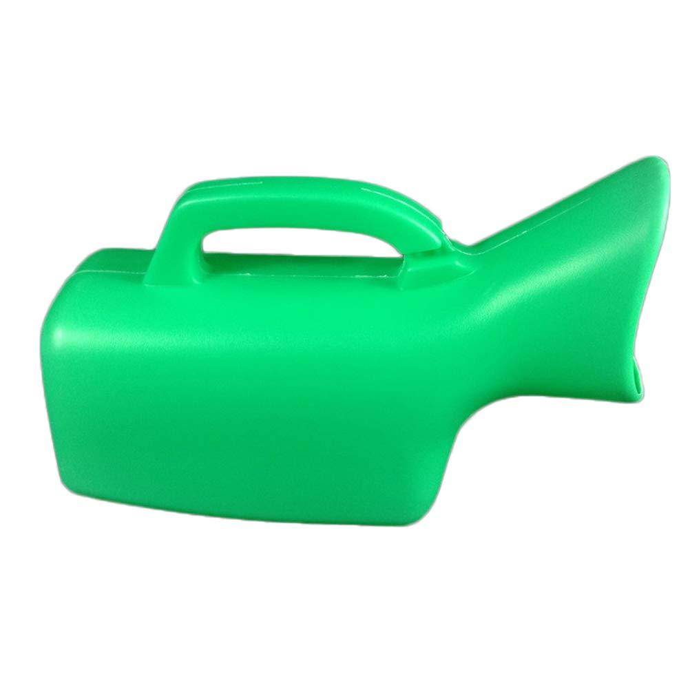 Verde + Blu SUPVOX Pappagallo urina bottiglia portatile per donna anziano 2 pezzi 1000ml