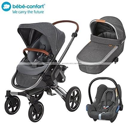 Bebe Confort Trio Nova 4 Oria y CabrioFix Sparkling Grey