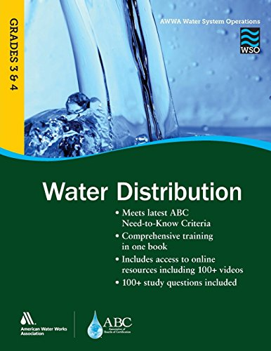 (WSO Water Distribution, Grades 3 & 4 (AWWA's Water System)