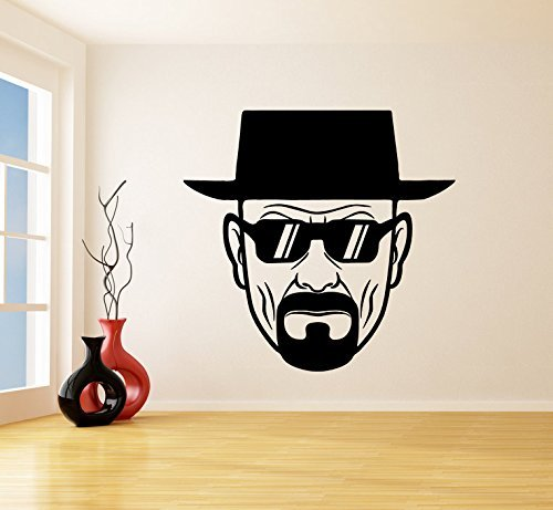 Poieloi Heisenberg with Sunglasses Vinyl Wall Decal Decal - Etsy Sunglasses