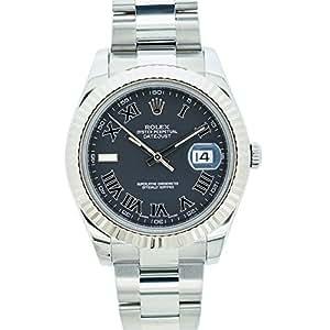 Rolex Datejust II Swiss-Automatic Male Watch 116334 (Certified Pre-Owned)