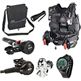 Mares Hybrid Pure BCD Scuba Diving Regulator Package with Dive Computer