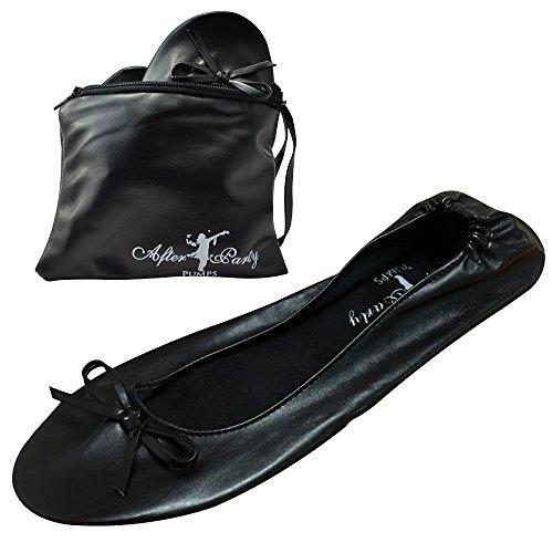 borsetta da ballerine Black da donna Scarpe TSIz6nAn