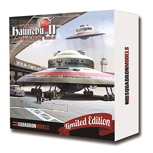 Squadron Models 1/72 Haunebu II German Flying Saucer Premium - Edition Kit Premium