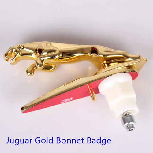 X-type and S-type Hood Ornament Leaping Jaguar Emblem GOLD