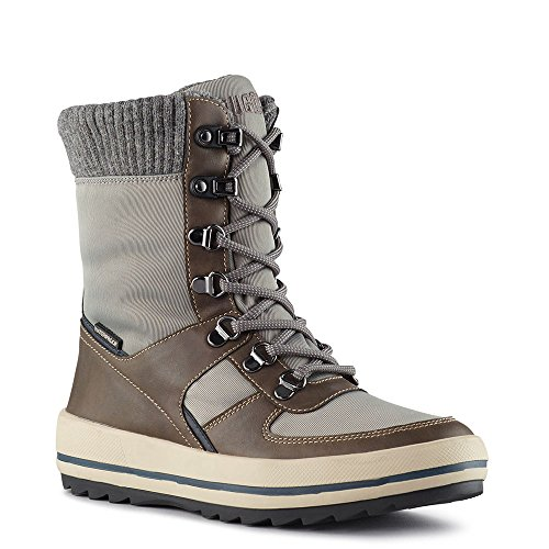 Oatmeal Taupe Winter Women's Boot in Vergio Grey Cougar 60azqw