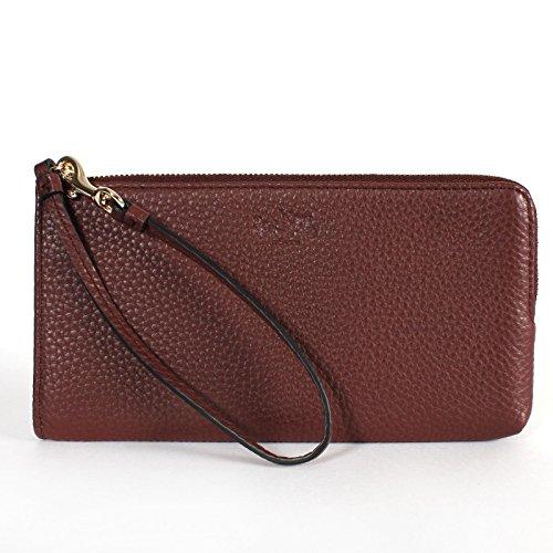 Coach Bleecker Leather Wallet Wristlet