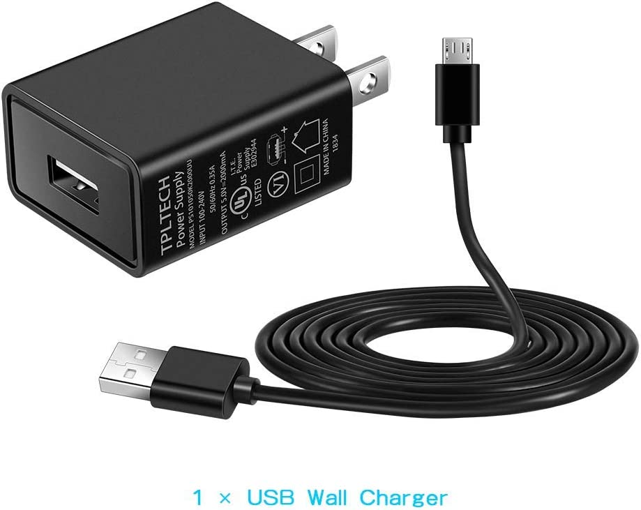 S50,B15 B15 Q Charger Adapter Wall Charger Compatible for Cat S30 S31 S41 S61 B25 B30 B35 B100 Phone,with 5ft USB Cord UL Listed S40 S60