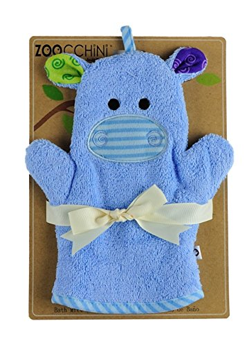ZOOCCHINI Henry the Hippo Bath Mitt