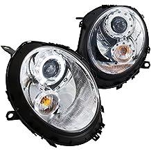 Spec-D Tuning 2LHP-MINI06-TM Mini Cooper S / Base Chrome Halo Projector Headlights