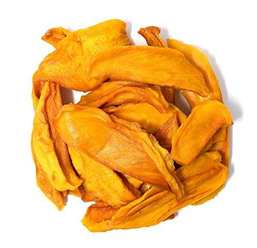 Anna and Sarah Organic Dried Mango, No Sugar Added Natural Snacks, 2 Lbs