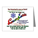 CafePress - Griswold Christmas Eddie - Blank Note Cards (Pack of 20) Matte