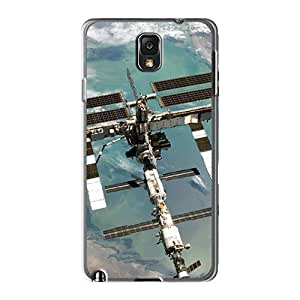 Cometomecovers BRZ14686upNx Cases For Galaxy Note3 With Nice Space Station Appearance