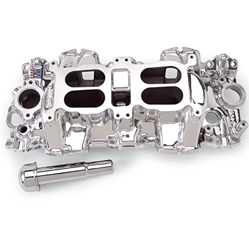 Edelbrock 54094 Performer RPM Dual-Quad Intake Manifold Endurashine Non-EGR Large Port Chevrolet Big Block 348/409 Performer RPM Dual-Quad Intake Manifold -  EDL-54094