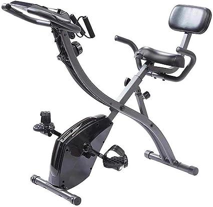 BOTOPRO - Slim Cycle, Bicicleta estática 2 en 1 para Uso en casa con Bandas de Resistencia y Monitor de corazón, Ideal para Uso doméstico - Anunciado en TV: Amazon.es: Deportes y aire libre