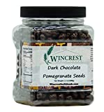 Dark Chocolate Covered Whole Pomegranate Seeds (Arils) - 1.5 Lb