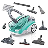 Thomas Multi Clean X10 Parquet Cylinder 6L 1700W Green,Grey - vacuum cleaners (Cylinder, Dry&Wet, Home, Carpet, Hard floor, Green, Grey, Stainless steel)