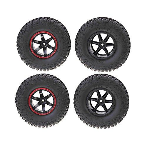 RISHIL WORLD 4Pcs AUSTAR AX-3020B 1.9 Inch 103mm RC Car Tire