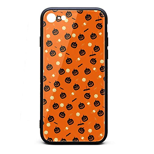Halloween Wallpaper Decor i-Phone 6/6S Case Ultra-Thin Back Case Silica Gel Thinnest for i-Phone 6/6S]()