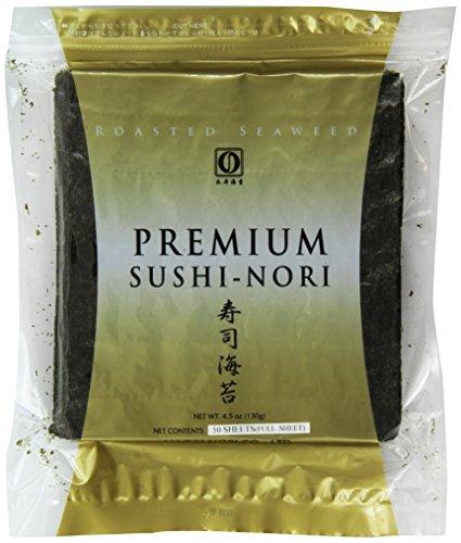 Nagai Premium Sushi Nori, 50 Count
