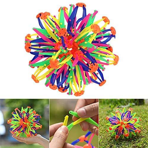 wqeew - Pelota mágica para niños y niñas, diseño de Flores: Amazon ...