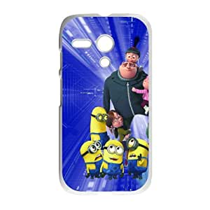 Despicable Me ROCK5099451 Phone Back Case Customized Art Print Design Hard Shell Protection Motorola G