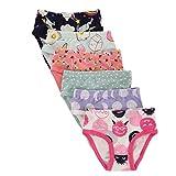#6: benetia Girls Underwear Soft Cotton 6-Pack