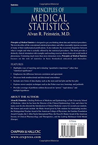 Principles of Medical Statistics