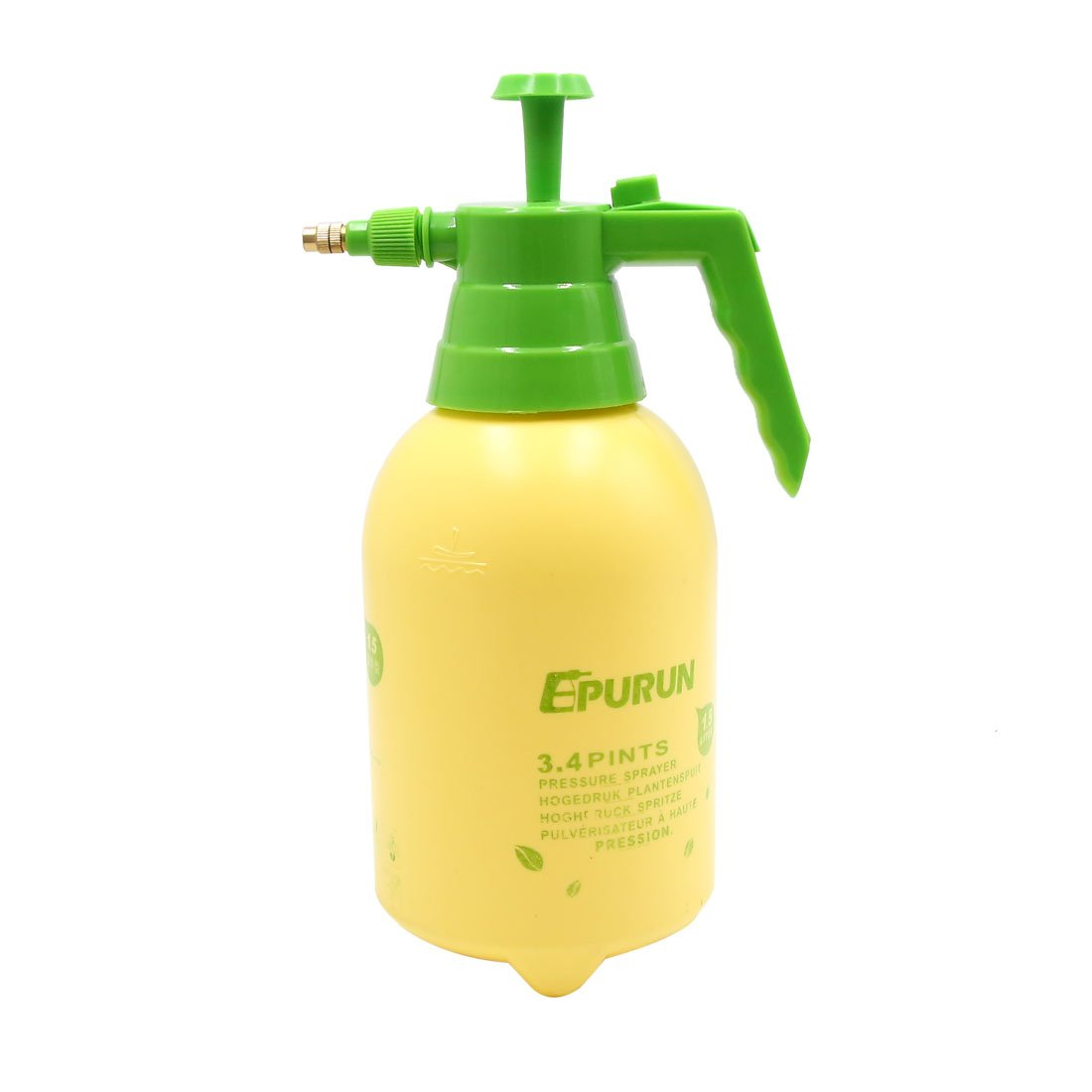 uxcell Plastic Yellow Car Trigger Spray Bottle Window Washing Cleaner Tool 1.5L by uxcell (Image #1)
