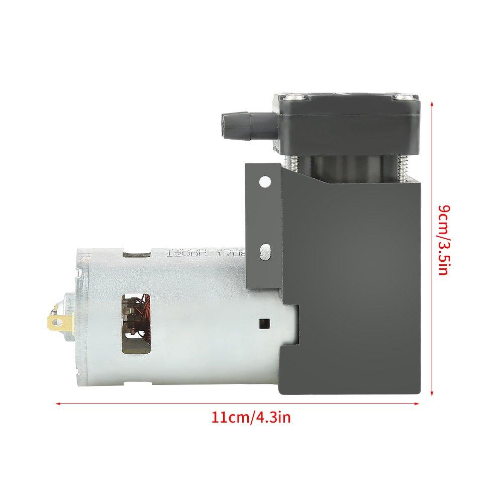 OKBY Vacuum Pump - 1pc DC12V 42W Mini Small Oilless Vacuum Pump -85KPa Flow 40L/min by OKBY (Image #5)