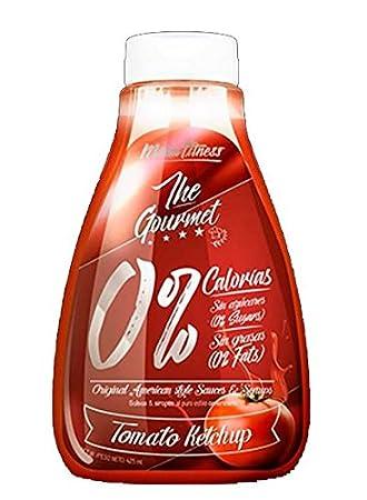 Menú Fitness - Salsa The Gourmet 0% - 425ML (Ketchup): Amazon.es: Salud y cuidado personal