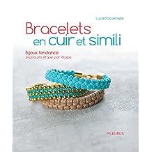 Bracelets en cuir et simili (Savoir créer art et technique)
