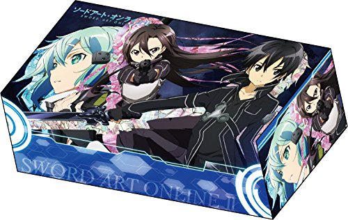 Sword Art Online II Kirito & Sinon Ver.B Card Game Character Deck Storage Box Collection SAO 2 Gun Gale GGO Anime Girl