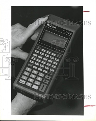 - Vintage Photos 1991 Press Photo Telxon Palmtop Computer Produced at The Houston Plant.