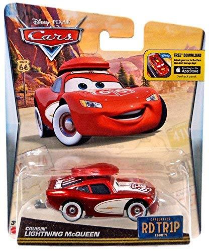 - Disney Pixar Cars Walmart Exclusive Route 66 RD TR1P Road Trip Cruisin Lightning McQueen