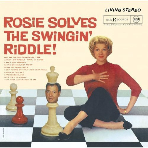 CD : Rosemary Clooney - Rosie Solves The Swingin Riddle (Japan - Import)