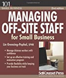 Managing off-Site Staff for Small Business, Lin Grensing-Pophal, 155180865X