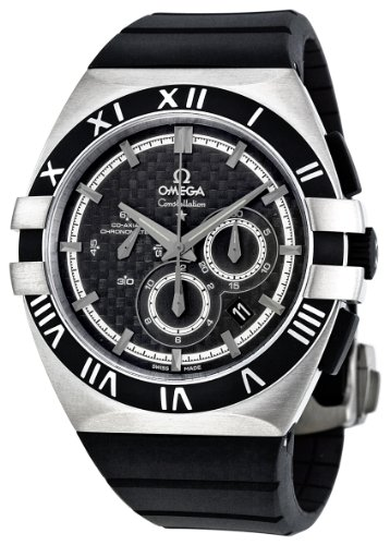 Omega-Mens-12192415001001-Constellation-Black-Dial-Watch
