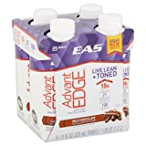 EAS AdvantEdge Milk Chocolate Pure Milk Protein Shakes Review and Comparison