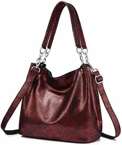 7f2b3df454d Chibi-store genuine leather shoulder crossbody bag female larges ladies  hobos top-handle tote