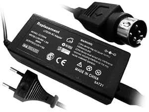 Troy-Adaptador de alimentación para LCD/TFT 12V 5A con 4PIN / 4Polig